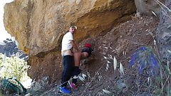 Amateur fuck in the mountains of the Canary Islands