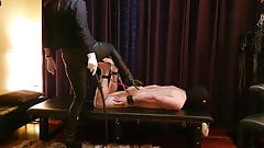 Torture tongue and Spanking