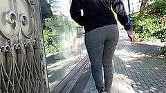 Pantaloni da yoga. jiggle seguire leggings grigi 1