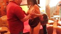Velvet Swingers Club Amateur couple bring friend in Hot hot