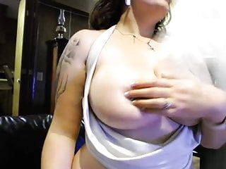 Thick busty ebony shemales 3 thick, busty big tits, pale with tattoo masturbating