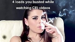 Smoking Mistress Turns you into a CUM slut