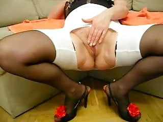 Ass slapped legs wide - Pushunas wide open legs orgasm