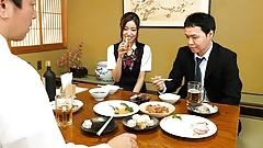 Japanese office lady, Hana Yoshida had sex with boss, uncens