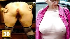 Huge Granny Tits, Jerk Off Challenge To The Beat #6
