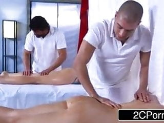 Sexy oil massages nude Oil massage and deeply fucking the sexy body