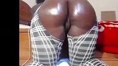 Big black fat booty