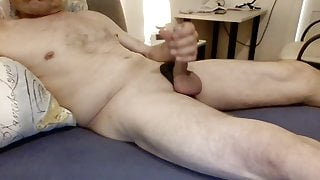 horny jerked off in bed
