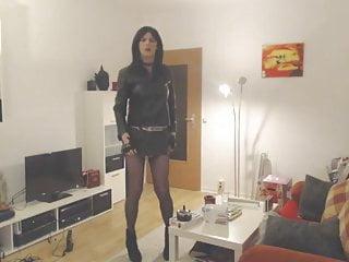 Gotic sex videos - Sandralein33 gotic dance smoking