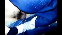 Tudung biru bjob
