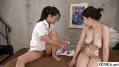 Japanese lesbian massage vaginal pressure training course