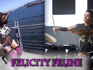 Felicity french porn Tattooed felicity feline sex kitten female training pet play
