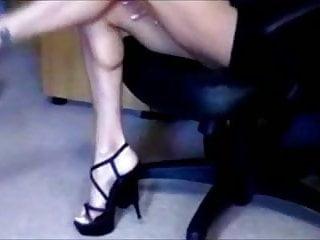 Sexy stripping secretaries Kristina secretary strip