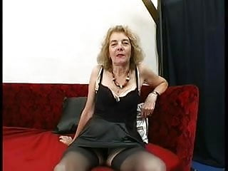 Granny stocking tube porn Gaping anal granny in stockings fucks three
