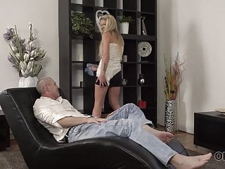 Dad fuck buddy - Old4k. old buddy creampies young blonde after nice fucking..