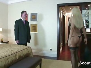 Men fucking men for free - German beauty whore get fucked by old men for money