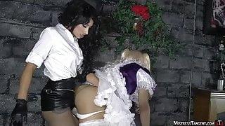 Mistress Tangent - Petticoat Pump.