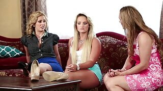 Tanya Tate, Cali Carter and Cherie Deville are lesbian teens