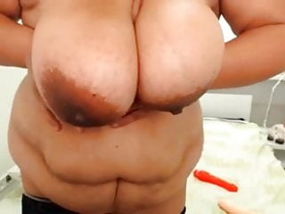 Bree brown bbw Bbw with huge hanger and amazing brown areola
