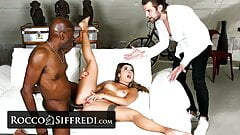 Martina Smeraldi Is Roughly Banged By A Client And The CEO