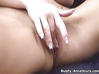 Lovely teras pussy Busty amateur tera masturbates her pussy