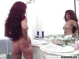 Fucking chubby granny - Chubby granny enjoys pissing fuck