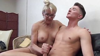 Taboo sex with mature stepmom