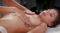 Not a Normal Massage, Liya Silver and Lola Myluv