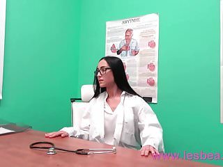 Doctor examines her big tits Lesbea hot lesbian doctor examines small tits teen
