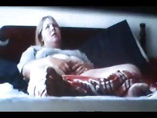 Rube xxx - Spycam caught blonde rubing clit to orgasm