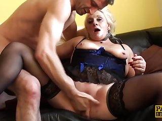 Choke sex scene Pascalssubsluts - choked granny carol gets rough anal sex