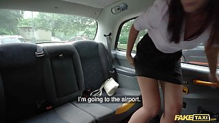 Fake Taxi – Sexy Latina brunette air stewardess has her pussy pounded