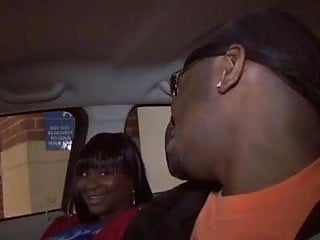 Gonzo blow job Two ebony whores take turns giving hung black stud a great blow job