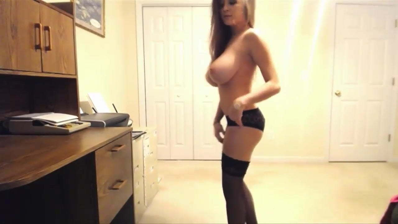 Brunette Big Tits Strip