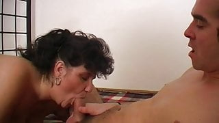 Mature and young cock 1