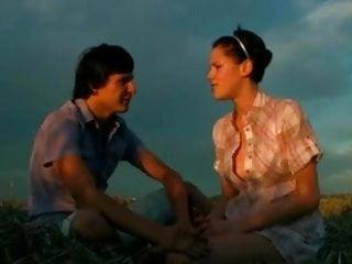 Busty russian treena - Perfect amateur busty russian teen outdoor