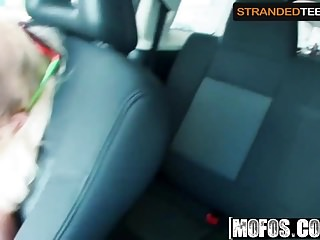 Hot blonde teen blowjob video Stacie andrews - hot blonde teen hitchhiker picked up and -