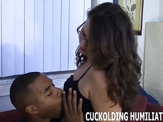 Wild femdom His huge black cock just drives me wild