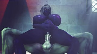 queen nualia fucked by a monster