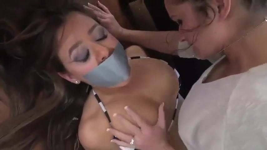 Step Daughter Ties Up Step Mom