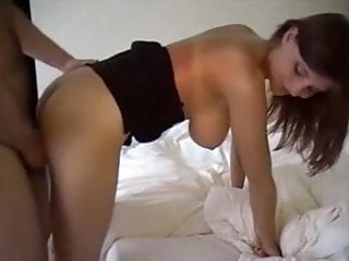 Ameture fucks in hotel - Unfaithful european wife with great tits fucks in hotel