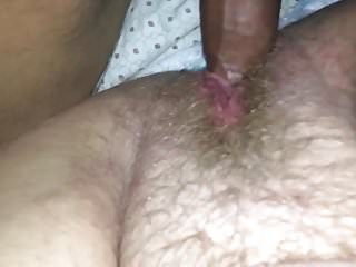 Littel dicks - I teased her with a littel bit of my cock