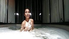 Maxima in the bathroom