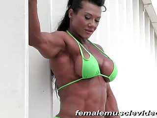 Do female apes have breasts Female bodybuilder ap