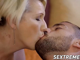 Hard pink pussies Busty blonde gilf bibi pink fucked by young hard cock