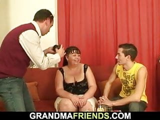 Ass fat free mature sexy video woman - Fat mature woman takes two cocks at once