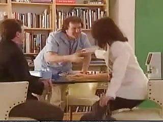 Weird insertion porn German porn - weird foursome to the gyno doctor