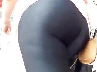 Spandex lycra porn Megaculo en calzas lycra