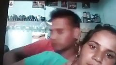 DESI AUNTY HAVING ROMANCE WITH YOUNG GUY