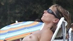 mature french topless incredible beach orthez nude lac